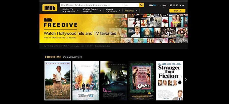 IMDb, dünyanın en büyük film değerlendirme platformu konumunda yer alıyor.