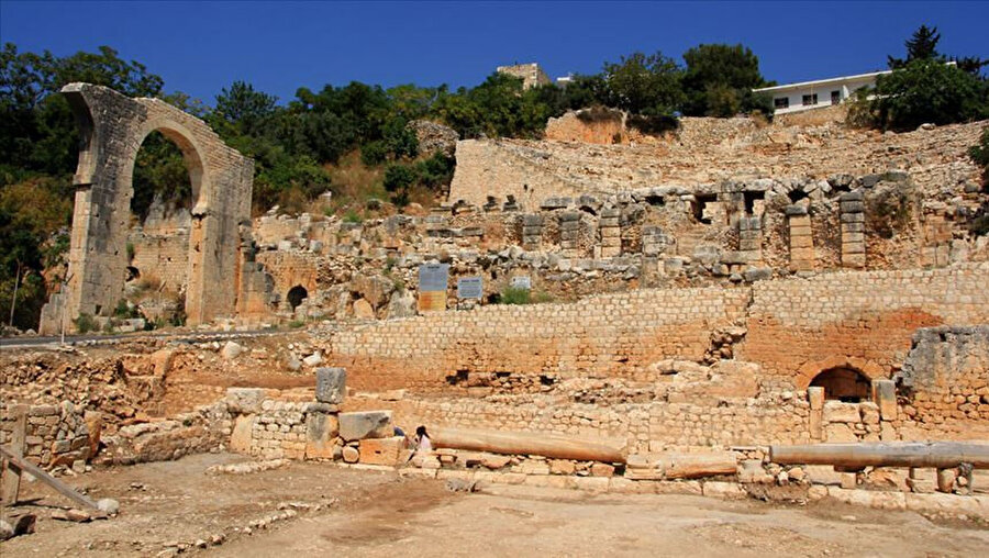 Elaussia Sebaste Antik Kenti
