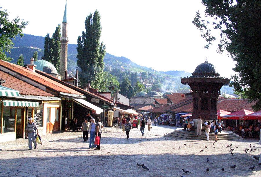Başçarşı, Saraybosna.