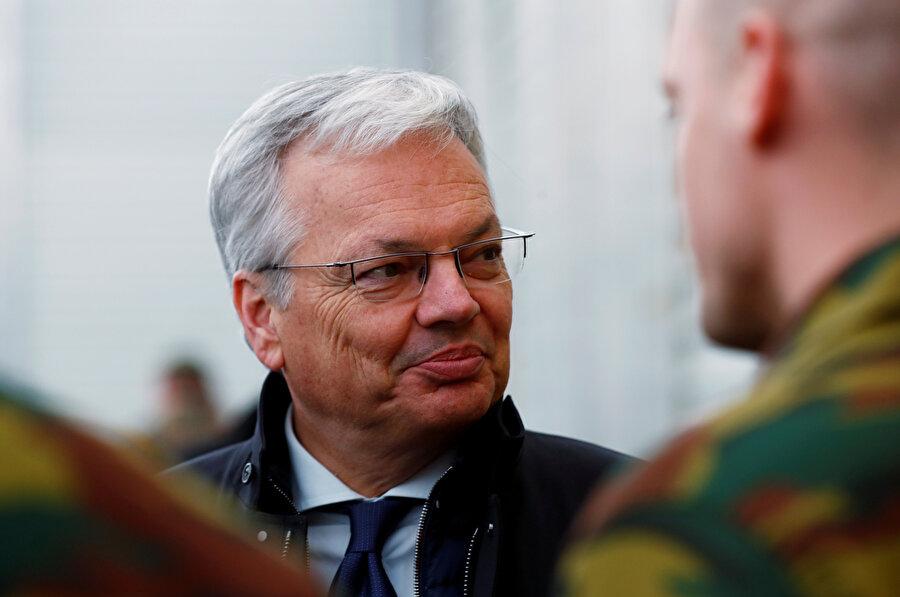 Belçika Dışişleri ve Savunma Bakanı Didier Reynders