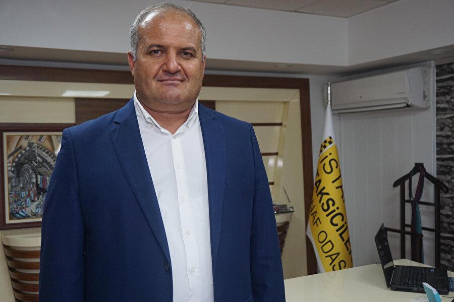 Taksiciler Esnaf Odası Başkanı Eyüp Aksu