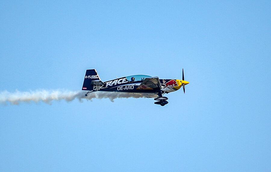 Red Bull da gösteri düzenledi.
