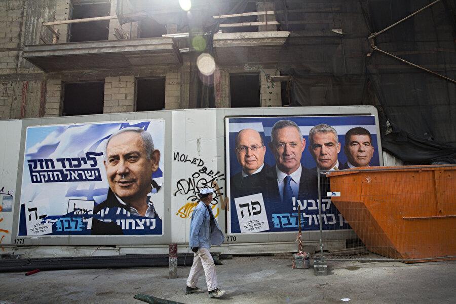 İsrail'de yapılan seçimlerde Gazze Şeridine dair politik vaatler belirleyici oluyor.