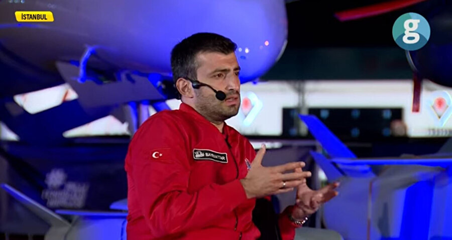 Bayraktar GZT özel yayınında TEKNOFEST hakkında konuştu.