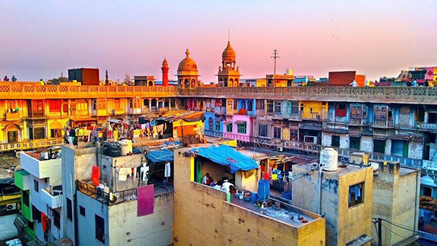 Tüm renkleriyle Khari Baoli. (Mohsin Javed)