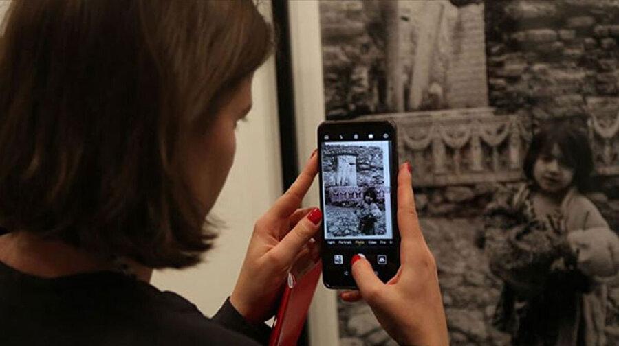 Ara Güler, fotoğraf sergisinden bir kare