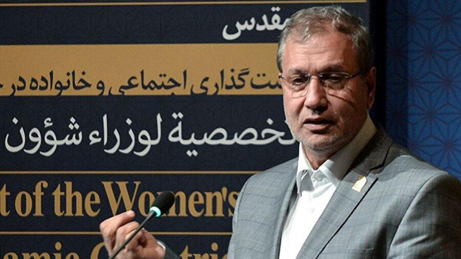 İran Hükümet Sözcüsü Ali Rebii