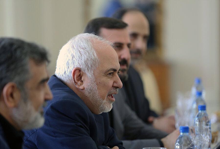 İran Dışişleri Bakanı Cevad Zarif -AA