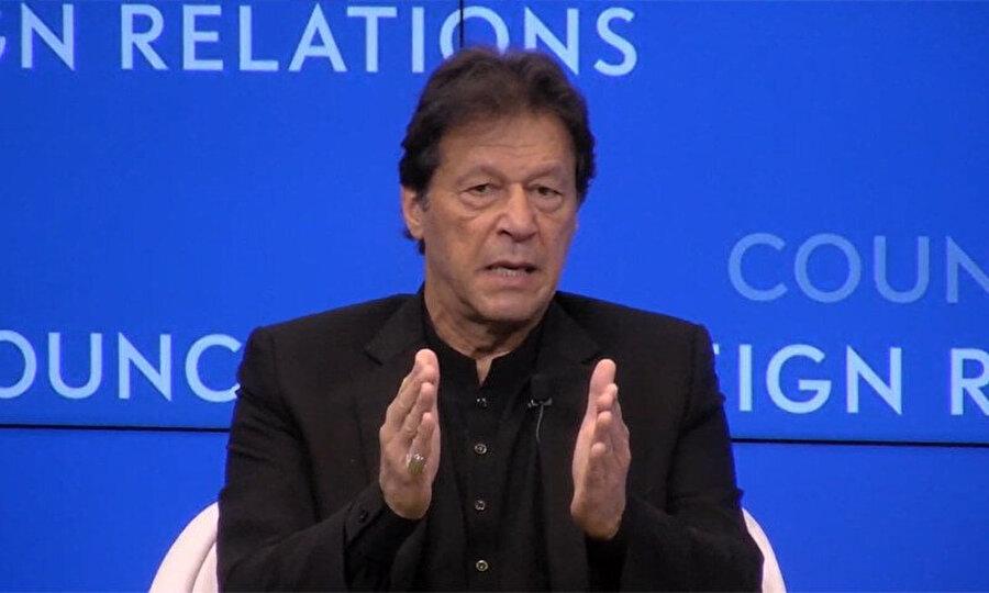 Pakistan Başbakanı İmran Han, Amerikan Dış İlişkiler Konseyinde (CFR) konuştu.