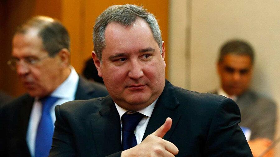 Rusya Federal Uzay Ajansı Başkanı Dmitry Rogozin.