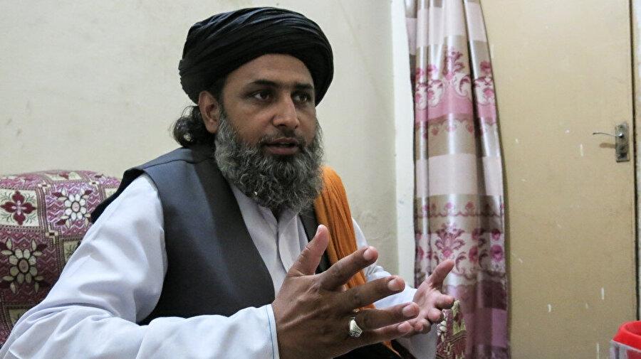 Tahrik-i Lebbeyk Pakistan (TLP) lideri Ejaz Eşrefi.