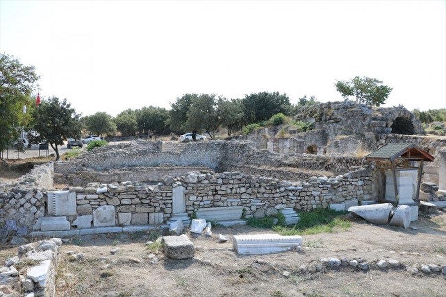 Alexandria Troas Antik Kenti'ndeki kazılarda, su altında kalan tarih hazineleri gün yüzüne çıkarılacak