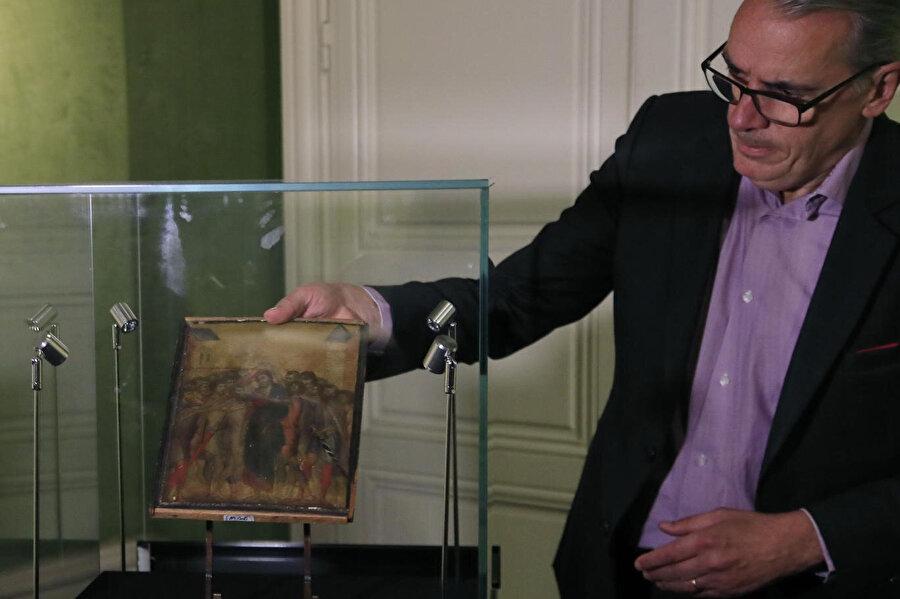 İtalyan ressam Cimabue'nin uzun süredir kayıp olan eserinin değeri 6 milyon euro