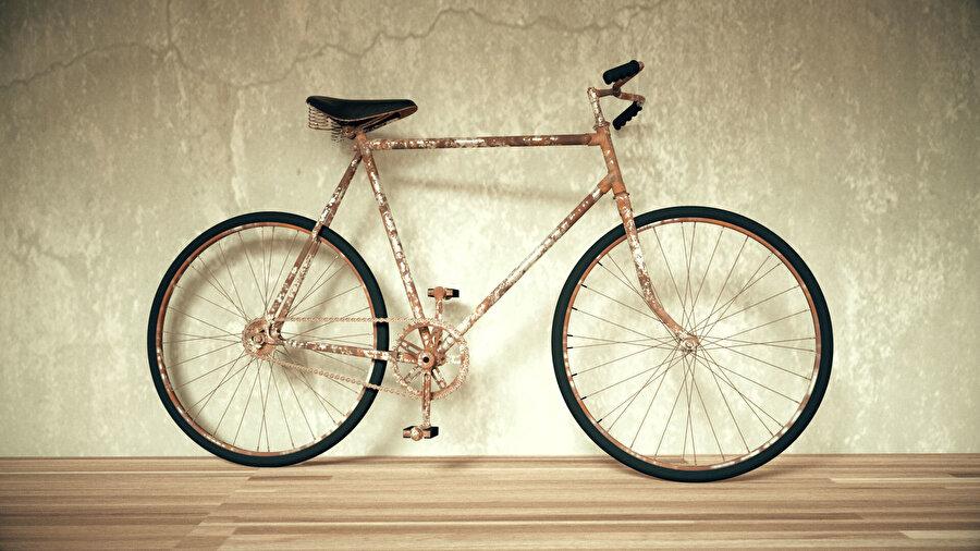 Eski çakıt bisiklet