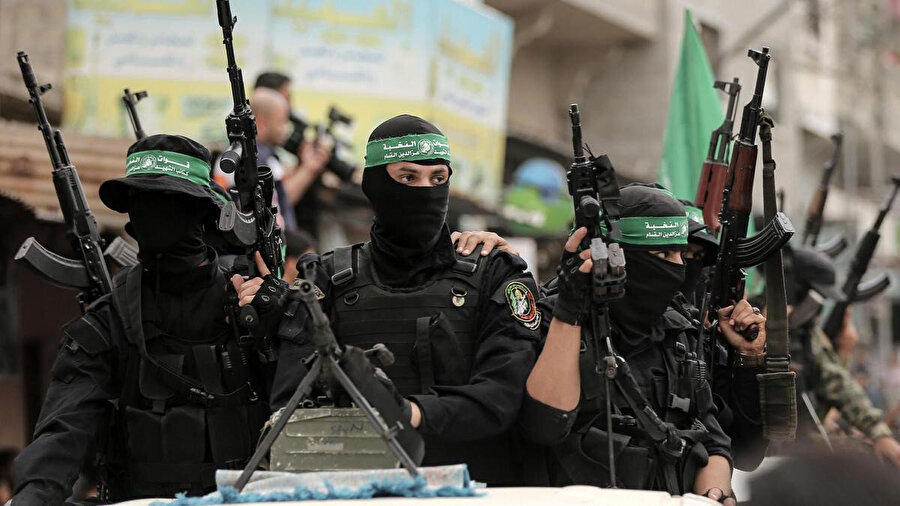 Hamas'ın askeri kanadı El Kassam Tugayları.