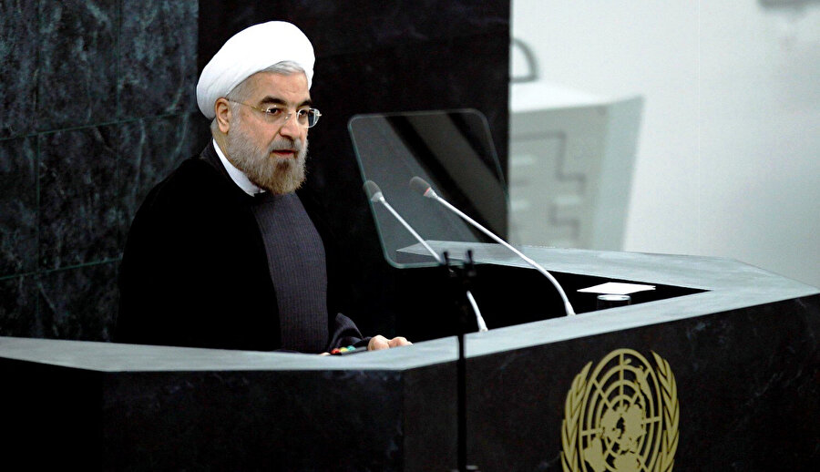 Ruhani, Birleşmiş Milletler Genel Kurulu'ndaki konuşmasında ABD, İsrail ve Suudi Arabistan'a sert eleştiriler yöneltmişti.