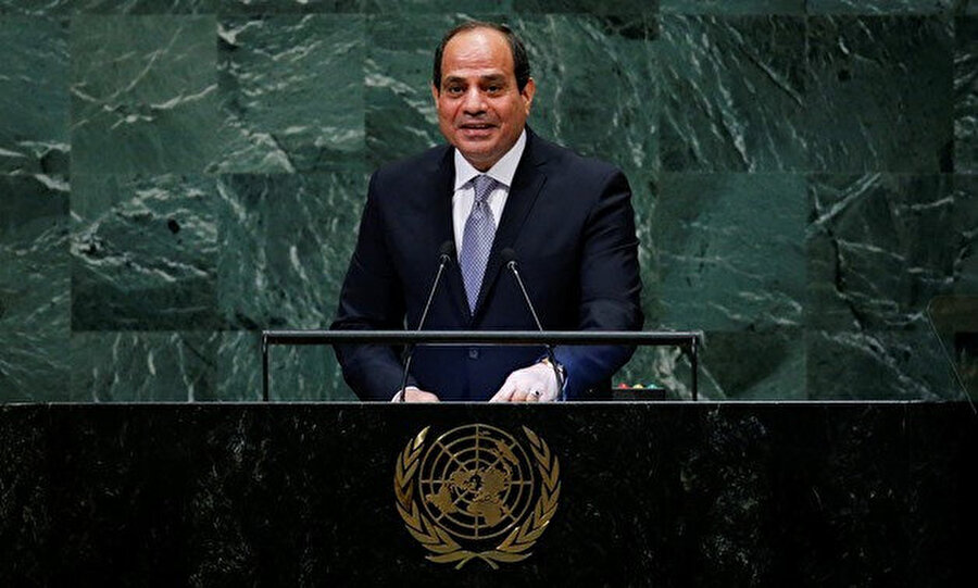Sisi'nin New York'taki Birleşmiş Milletler Genel Kurulu'nda yaptığı konuşma.