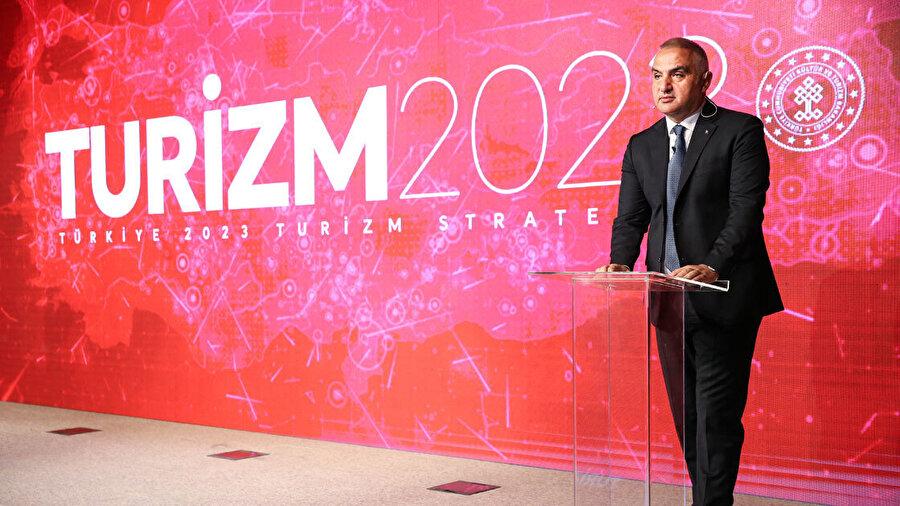 Kültür ve Turizm Bakanı Ersoy, 2023 hedeflerinden bahsetti