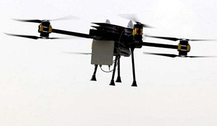 Drone baz istasyonları.