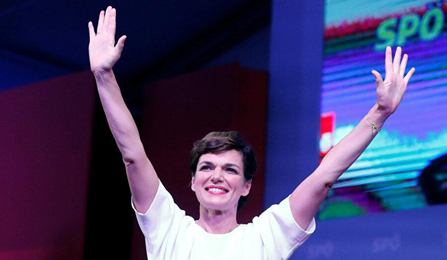SPÖ lideri Pamela Rendi-Wagner