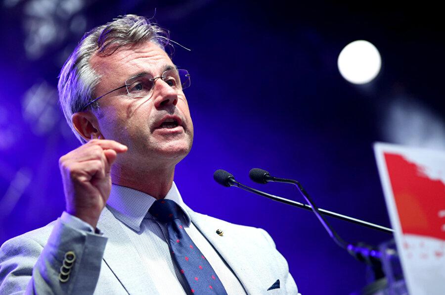 Avusturya Özgürlük Partisi Genel Başkanı Norbert Hofer