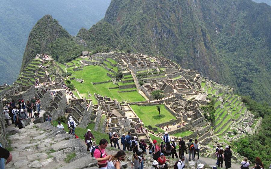İnka'ların şehri Machu Picchu büyük ilgi görüyor.