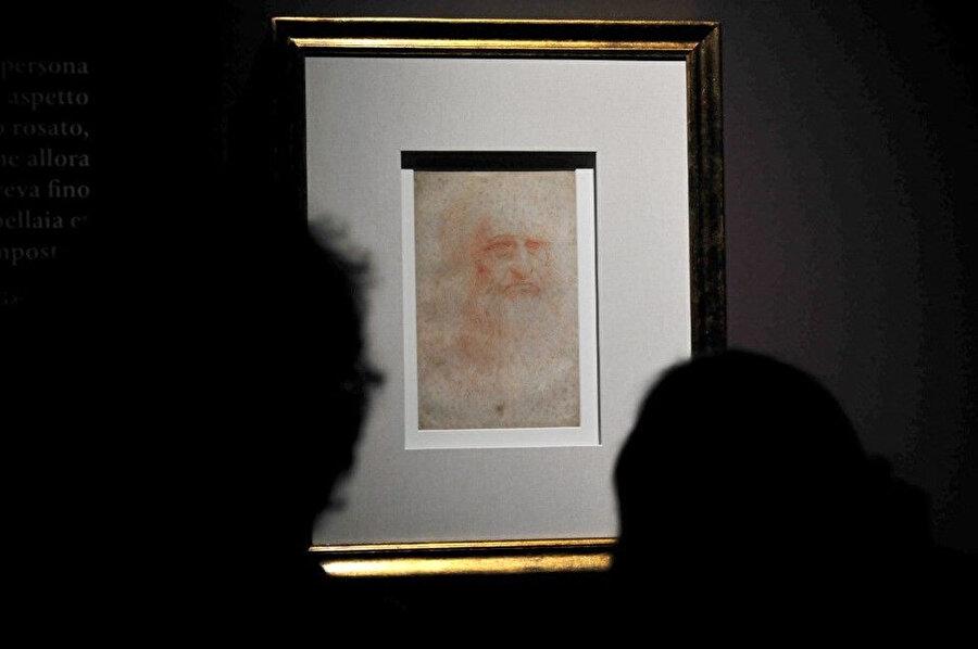 Leonardo da Vinci'nin karikatürü