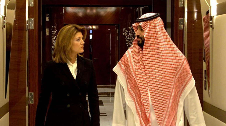 Amerikalı gazeteci Norah O'Donnell, Muhammed bin Selman'la Riyad'da konuştu.
