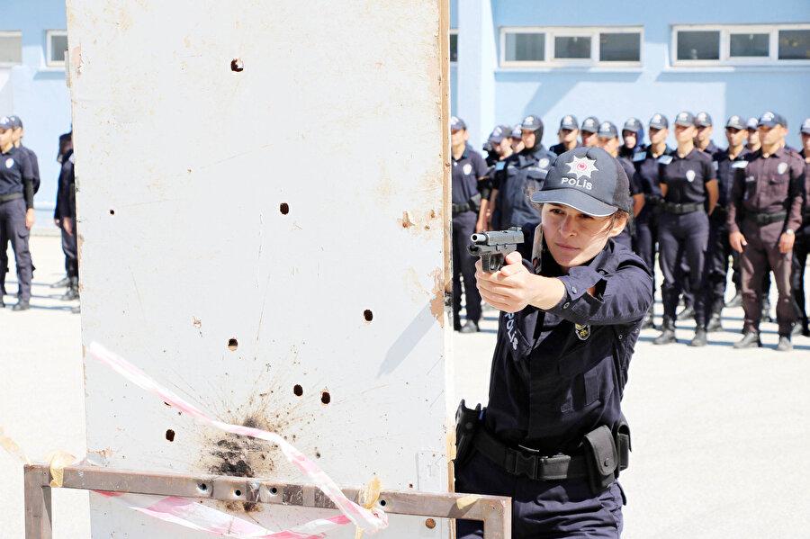 Hava polisi olacak adaylar özel eğitimlerden geçecek.