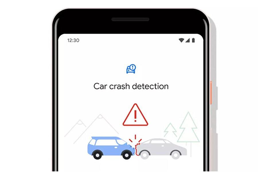 Google'ın yeni uygulaması, trafik kazalarını telefon sensörleri ve mikrofonla analiz ediyor.