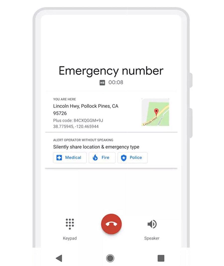 Konum ve diğer bilgileri toplayan uygulama hızlıca bölgeye ekiplerin servis edilmesini sağlıyor.