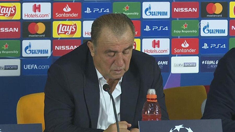 Fatih Terim, maç sonrası basın toplantısı düzenledi