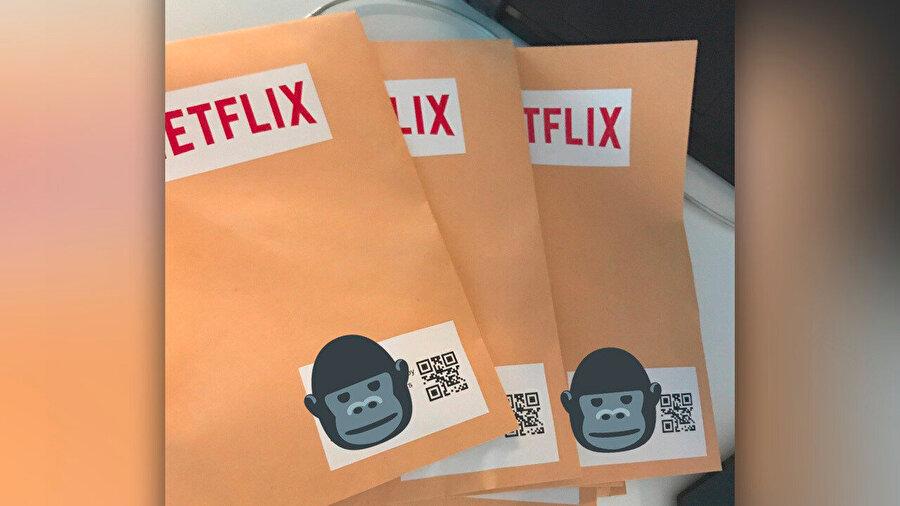 Dolandırıcılar, hedeflerindeki şirketlere Netflix logolu zarf gönderiyordu.