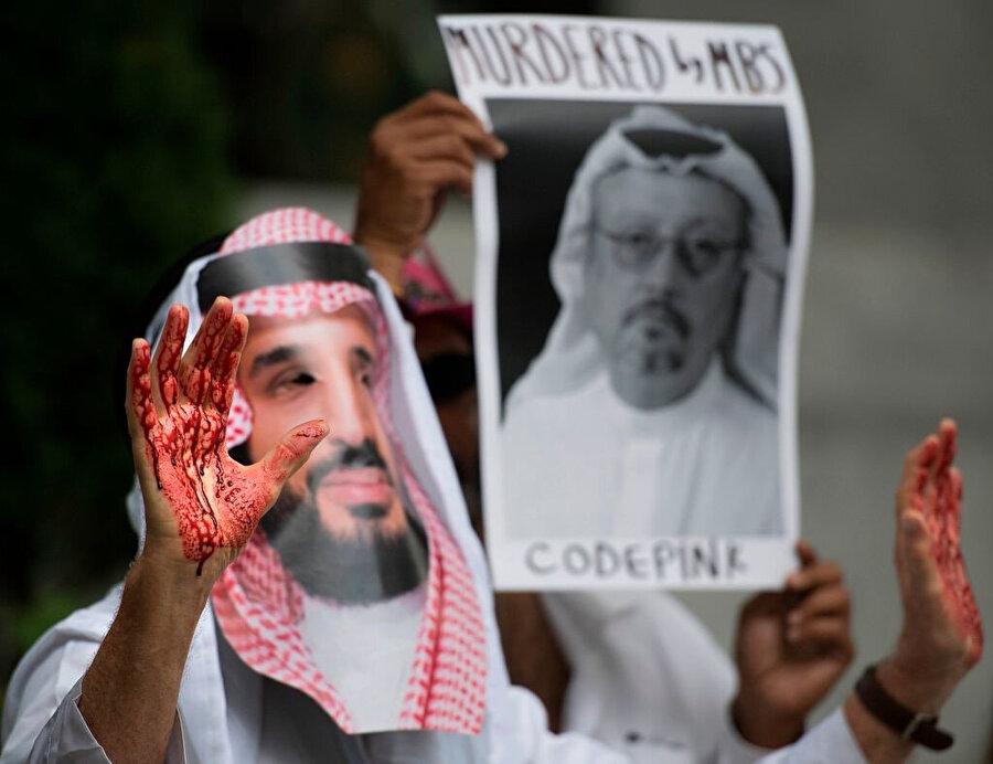 Cinayetin veliaht Prens Selman'ın talimatıyla işlendiğinin ortaya çıkmasının ardından özellikle Konsolosluk binası önünde protestolar düzenlendi.