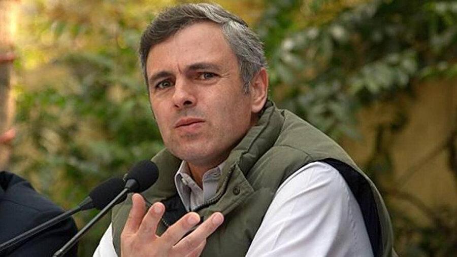 Cammu Keşmir'in lağvedilen Eyalet Yönetimi'nin Eski Başbakanı Ömer Abdullah.