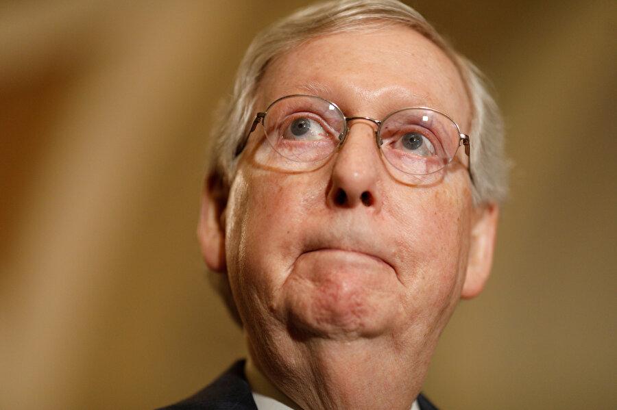 Senato Çoğunluk lideri Mitch McConnell