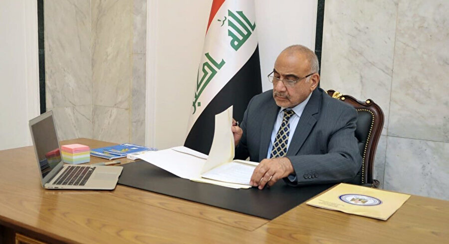 Irak Başbakanı Adil Abdülmehdi.