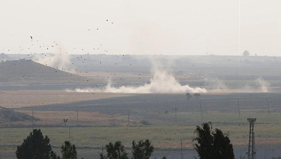 TSK'nın bombaladığı bölgeden görüntü