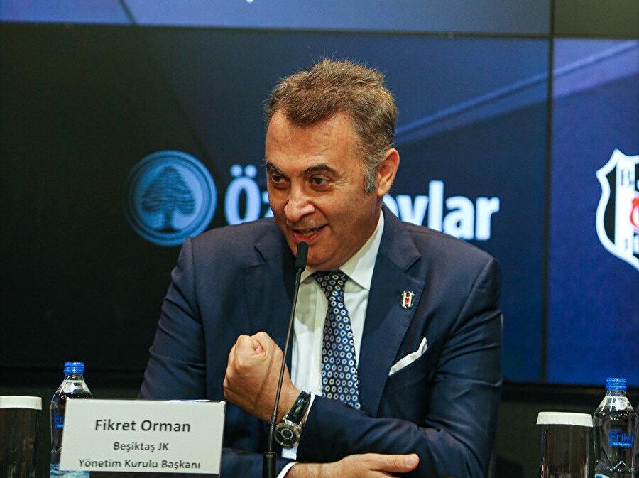 Fikret Orman, Beşiktaş için yeniden başkanlığa aday olmayacağını söyledi