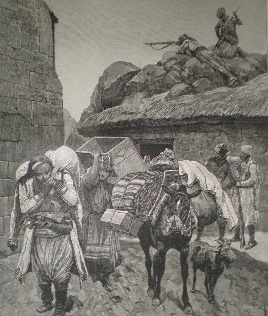 Doğu Rumeli'den göç eden Türkler, 1885.