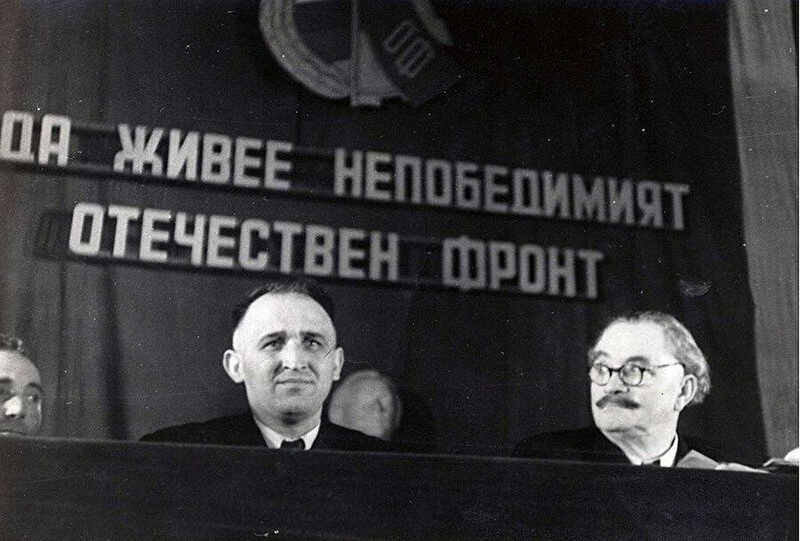 Todor Jivkov. (solda)