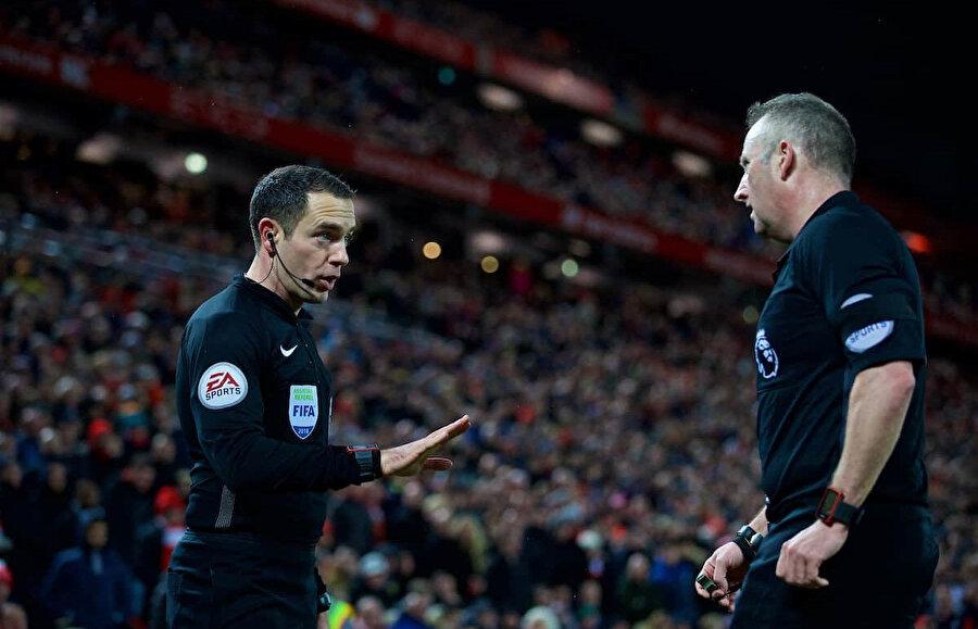 Smart'ın uyarısı sonucu Tottenham iki penaltı kazandı