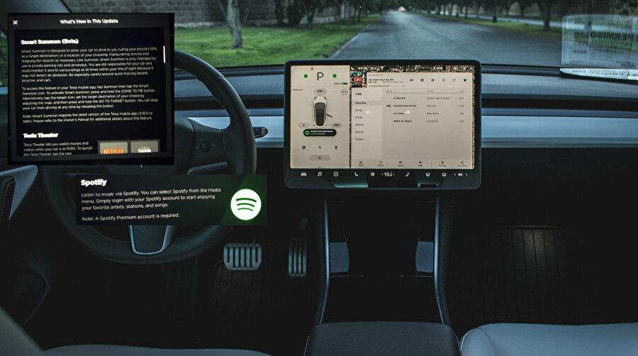 Akıllı Çağırma özelliği Tesla'ların bulunduğunuz bölgeye kadar otonom modunda gelmesini sağlıyor.
