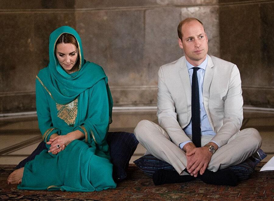 Kate Middleton ve Prens William.