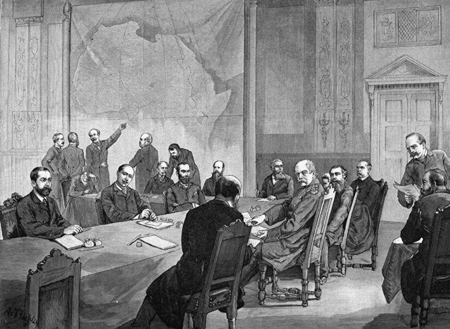1884 Berlin Konferansı.