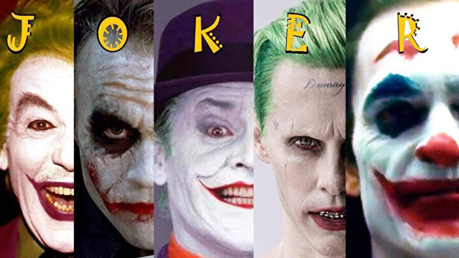 Joker kurgusal karakterinin sinemadaki tarihsel değişimi