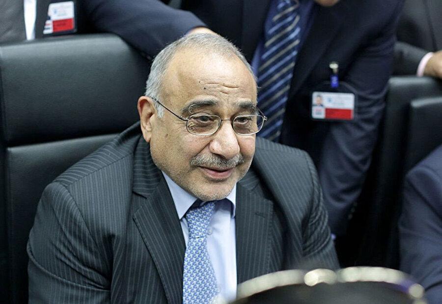 Başbakan Adil Abdulmehdi.