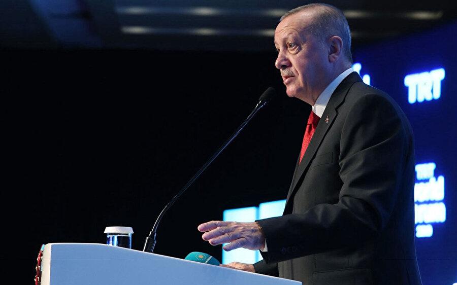 Cumhurbaşkanı Recep Tayyip Erdoğan, TRT World Forum'da yaptığı konuşmada Rusya Devlet Başkanı Putin ile Suriye meselesini görüşeceğini açıklamıştı.