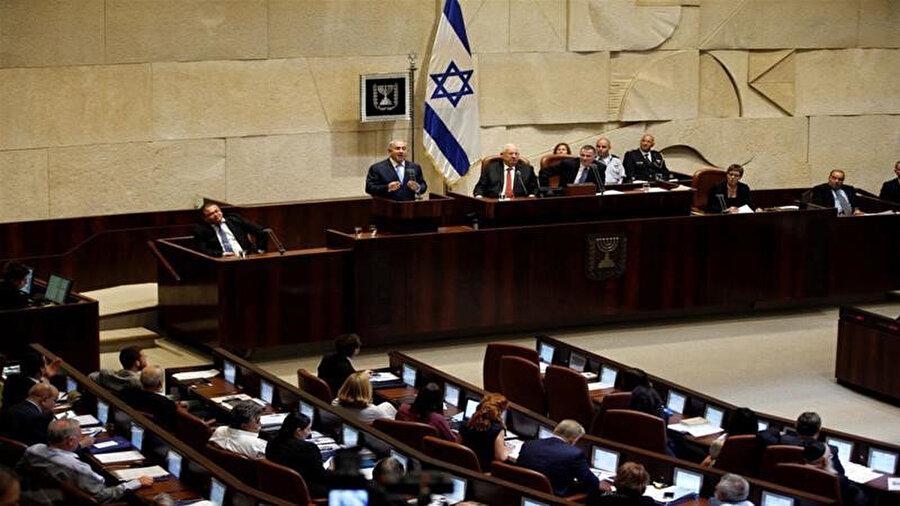 İsrail parlamentosu.