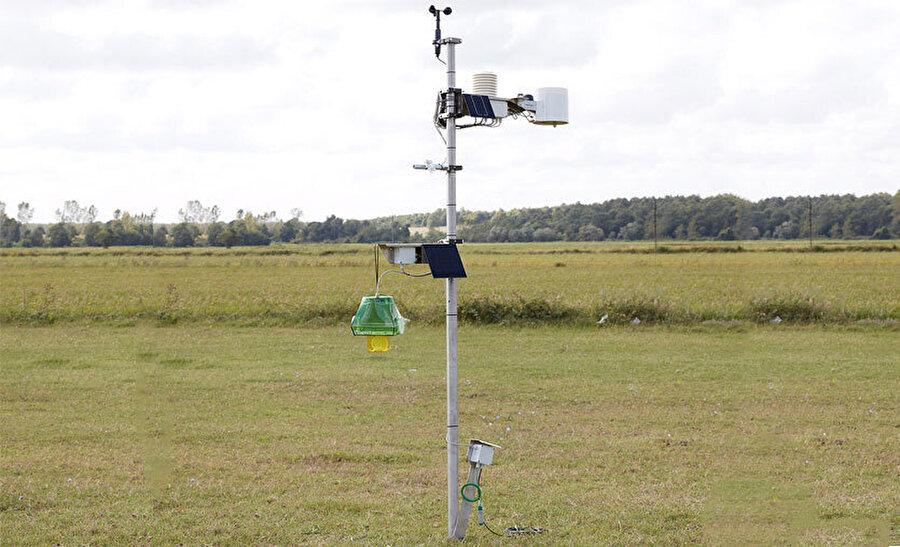 Dijital Tarım Projesi, çiftçilerin tarlalarına dair her bilgiyi anbean öğrenebilmesini sağlıyor.